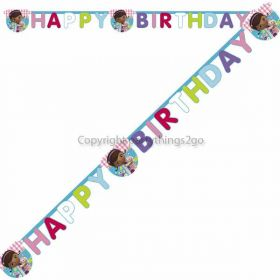 Doc McStuffins Happy Birthday Party Banner 6ft