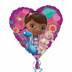 Doc McStuffins Love Heart  Foil Balloon 17''
