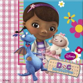 Doc McStuffins Party Paper Napkins pk16