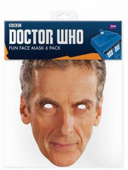 Peter Capildi Doctor Who Face Mask