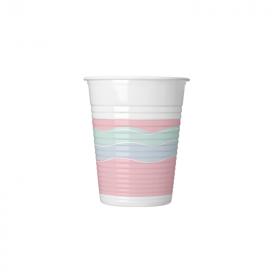 Elegant Party Plastic Cups 200ml, pk8