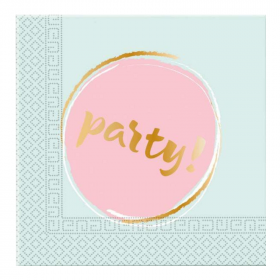 Elegant Party Napkins 33cm x 33cm, pk20