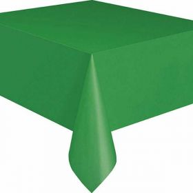 Value Emerald Green Plastic Party tablecover