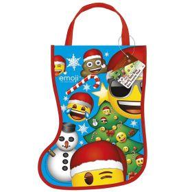 Emoji Christmas Stocking Party Bag