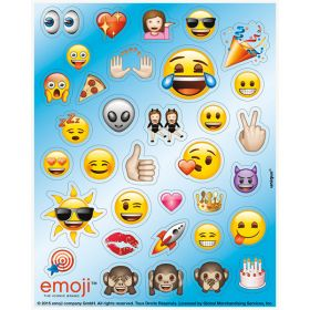 Emoji Sticker Sheets pk4