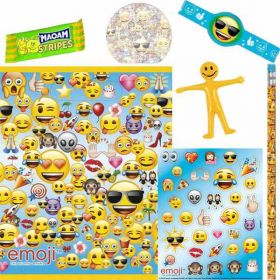 Emoji Pre Filled Party Bags (no. 3), one supplied