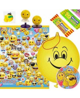 Emoji Filled Party Bags (no. 2), one supplied