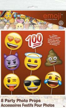 Emoji Photo Booth Props pk8