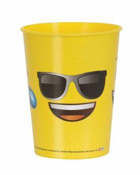 Emoji 16oz Plastic Cup