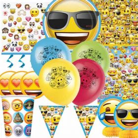 Emoji Ultimate Party Supplies Kit for 8