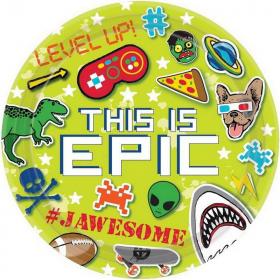 Epic Party Paper Plates 23cm - pk8