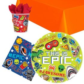 Epic Game Party Tableware Pack