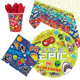 Epic Party Tableware Pack for 8