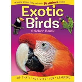 Exotic Birds Activity Book