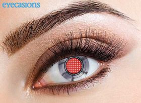 Coloured Contact Lenses - Robotic
