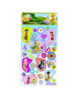 Disney Fairies Foil Stickers Sheet