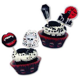 Fangtastic Cupcake & Picks, 48pc