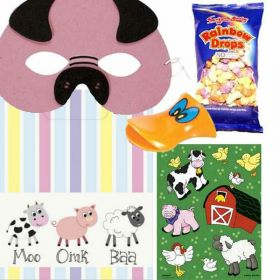 Farmyard Party Pre Filled Party Bags (no. 1), One Supplied