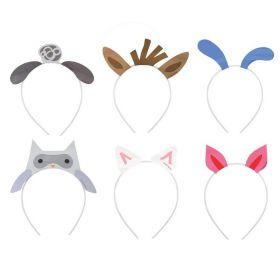 Farm Party Headbands, pk6