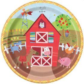 Farm Party Plates
