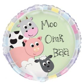 Farmyard Party Foil Balloon