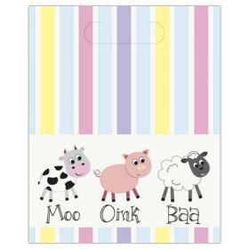 Farmyard Party Loot Bags pk8