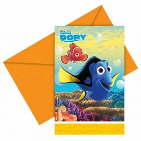 Finding Dory Invitations pk6