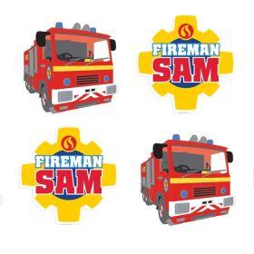 Fireman Sam Erasers pk8