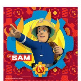 Fireman Sam Party Napkins pk20