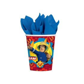 Fireman Sam Party Cups 266ml, pk8