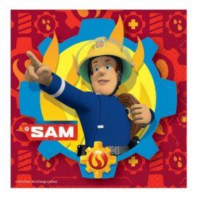 Fireman Sam Party Napkins 33cm x 33cm, pk20