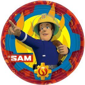 Fireman Sam Party Plates