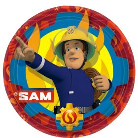 Fireman Sam Paper Plates pk8 23cm
