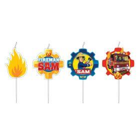 Fireman Sam Candles