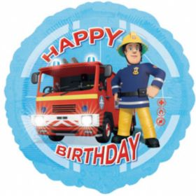 Fireman Sam Happy Birthday Foil Balloon 17''