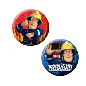 Fireman Sam Badges pk6