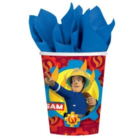 Fireman Sam Party Cups pk8