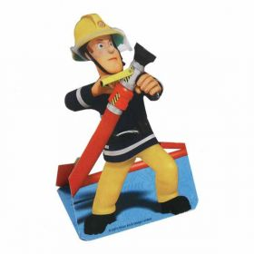 Fireman Sam Stand up Invitations, pk8