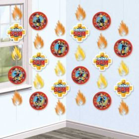 Fireman Decorations
