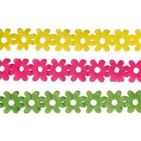 Paper Mini Flower Garlands, pk3