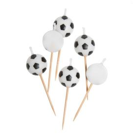 Football Pick Candles, pk6
