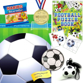 Football Pre Filled Party Bags
