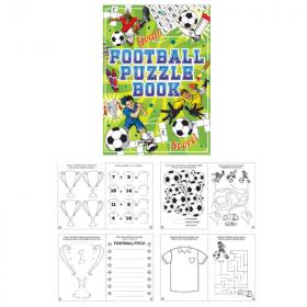 Football Fun Puzzle Book