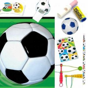 3D Soccer Pre Filled Party Bags (no. 4), one supplied