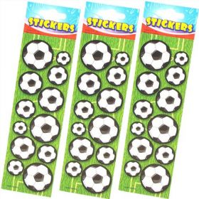 Football Sticker Strip