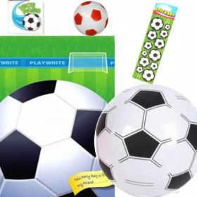 Football Pre Filled Party Bags (no. 5) one supplied