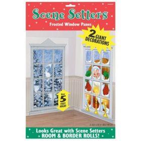 Frosted Windows Scene Setter Decoration
