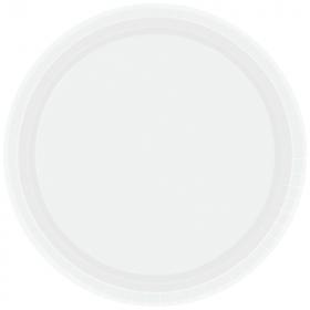Frosty White Dinner Plates