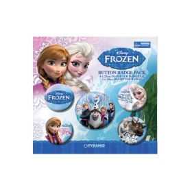 Disney Frozen Button Badge Set, p5