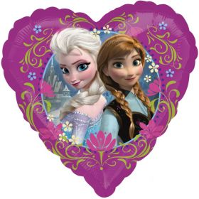 Disney Frozen Heart Shaped Foil Balloon 18''